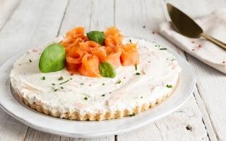 Crostata salata senza cottura