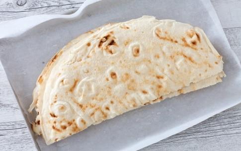 Preparazione Girelle di pane carasau alla pancetta, mozzarella e semi di chia - Fase 1