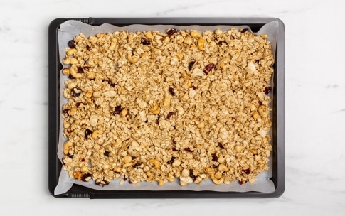 Preparazione Granola fatta in casa - Fase 2