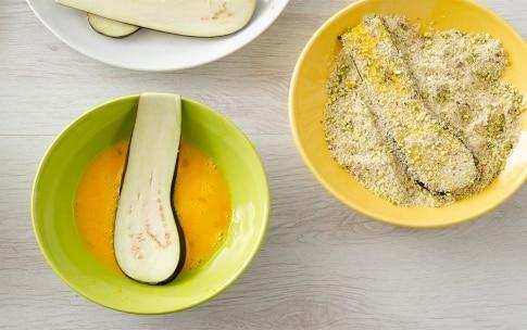 Preparazione Involtini di melanzane, pomodorini e pistacchi - Fase 2