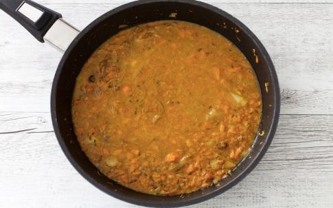 Preparazione Riso aromatico al cocco con dahl di lenticchie rosse - Fase 2