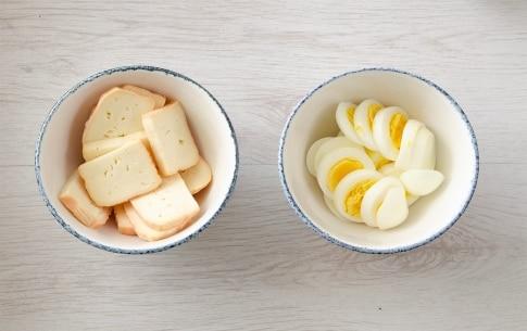 Preparazione Sformato di finocchi, uova e taleggio - Fase 1