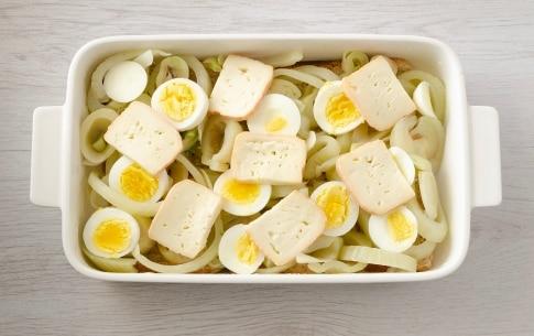 Preparazione Sformato di finocchi, uova e taleggio - Fase 2