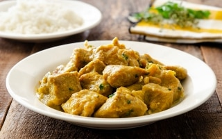 Spezzatino di vitello al curry