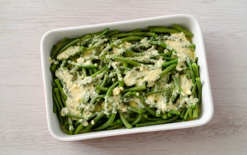 Preparazione Fagiolini al parmigiano - Fase 2