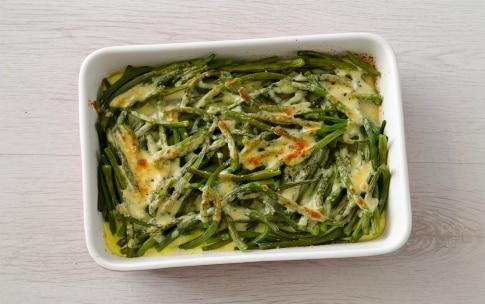Preparazione Fagiolini al parmigiano - Fase 3