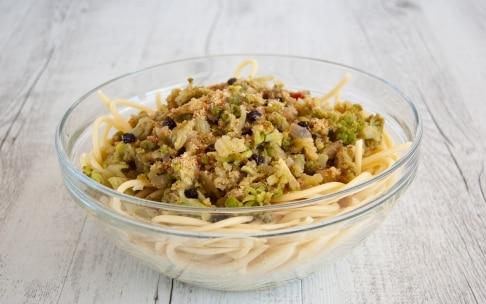 Preparazione Pasta con broccolo in carrozza - Fase 3