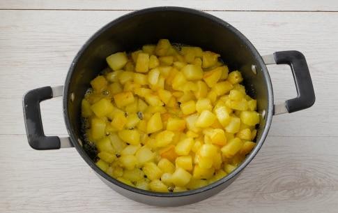 Preparazione Patate apparecchiate - Fase 1