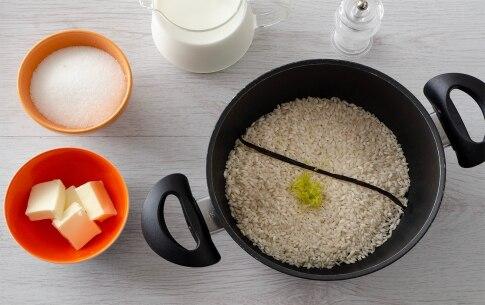 Preparazione Torta di riso e cacao - Fase 1
