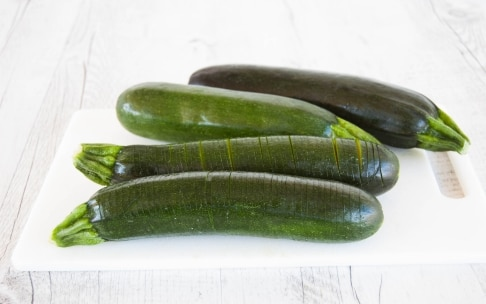 Preparazione Zucchine Hasselback - Fase 1