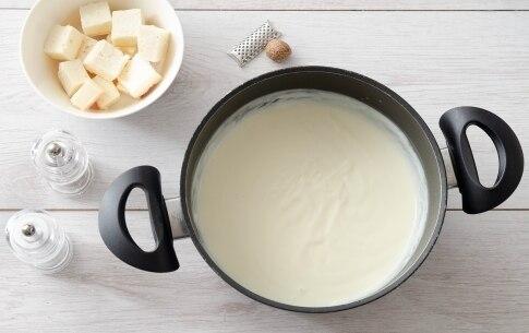 Preparazione Lasagne ai pistacchi e taleggio - Fase 2
