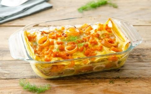 Preparazione Lasagne con zucca e calamari al finocchietto - Fase 6