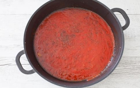 Preparazione Pollo alla pizzaiola - Fase 3