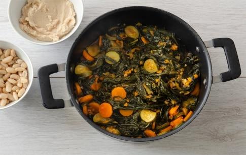 Preparazione Zuppa di cavolo nero con pane toscano - Fase 3