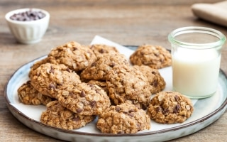 Chocolate chip cookies con farina di grano...