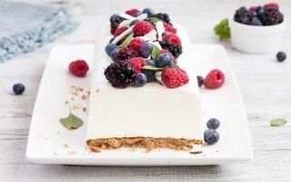 Mattonella di yogurt al cocco e frutti di...
