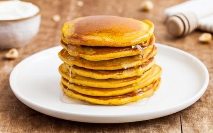 Pancake alla curcuma