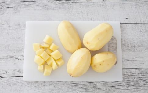 Preparazione Patate alla curcuma - Fase 1