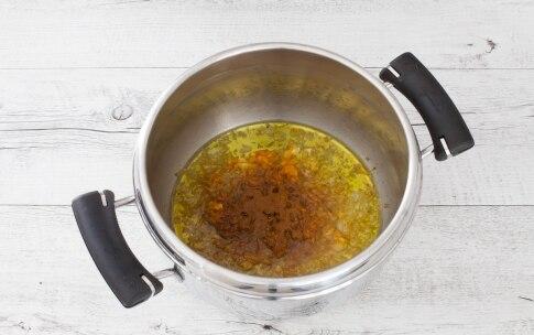 Preparazione Zuppa di cavolfiore e ceci alla curcuma - Fase 1