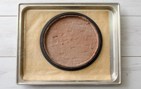 Preparazione Crostata meringata al cacao - Fase 3