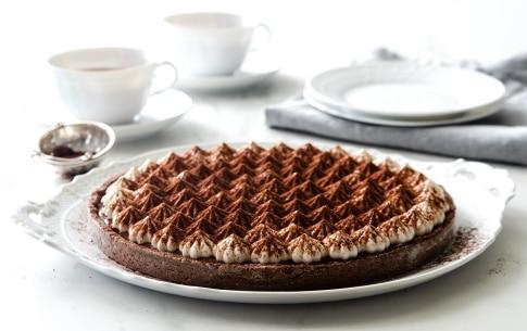 Preparazione Crostata meringata al cacao - Fase 8
