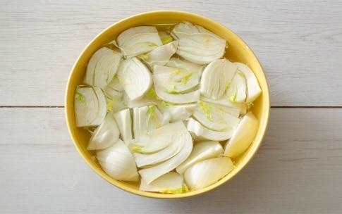 Preparazione Finocchi fritti - Fase 1