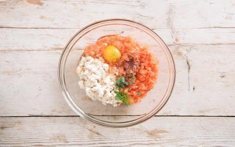 Preparazione Polpette di salmone - Fase 1
