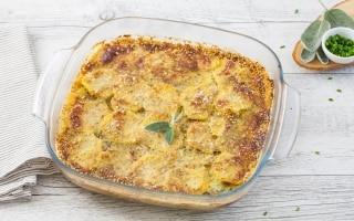 Sfogliata di patate al formaggio con erbe...