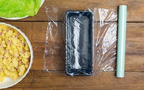 Preparazione Terrina di verza, patate e prosciutto - Fase 3