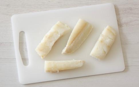Preparazione Canapè di crostini grigliati di polenta bigusto - Fase 2