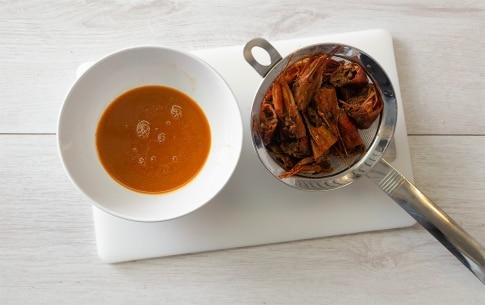 Preparazione Capesante e gamberi con capperini e cranberries - Fase 2