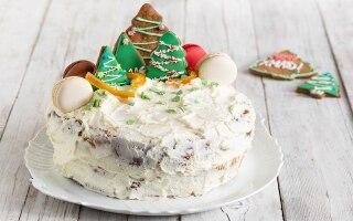 Christmas cake di panettone