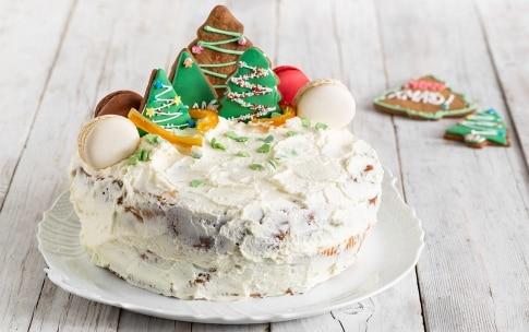 Preparazione Christmas cake di panettone - Fase 4