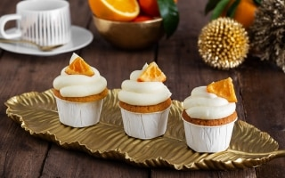 Cupcakes all'arancia