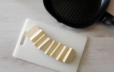 Preparazione Insalata di verdure invernali con tofu grigliato - Fase 2