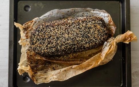 Preparazione Polpettone al forno con bietole in crosta di sesamo - Fase 3
