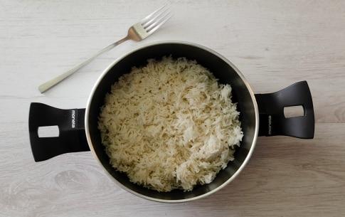 Preparazione Riso basmati con pollo al curry e latte di cocco - Fase 1
