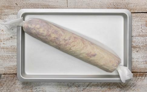 Preparazione Rotolo di patate con speck e scamorza affumicata - Fase 4