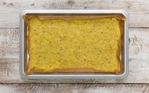 Preparazione Rotolo di patate con speck e scamorza affumicata - Fase 2