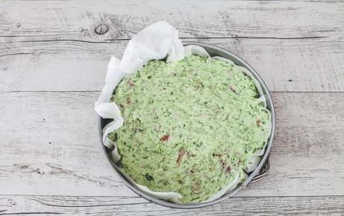 Preparazione Sbriciolata salata broccoli e salame - Fase 4