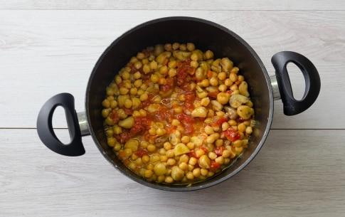 Preparazione Zuppa di ceci e castagne della Vigilia - Fase 3
