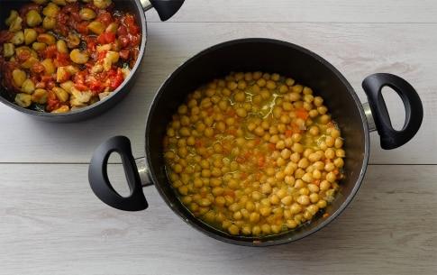 Preparazione Zuppa di ceci e castagne della Vigilia - Fase 2