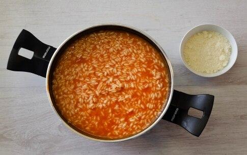 Preparazione Sartù di riso con spezzatino e piselli - Fase 2