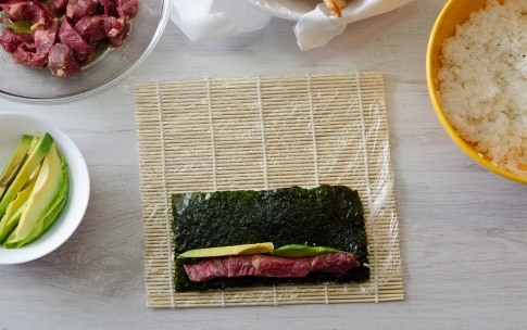 Preparazione Sushi di carne - Fase 3