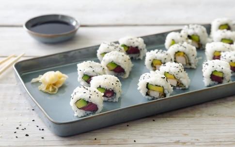 Preparazione Sushi di carne - Fase 4