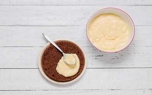 Preparazione Torta al cacao, rum, crema all'arancia - Fase 4