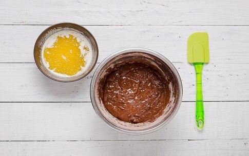 Preparazione Torta al cacao, rum, crema all'arancia - Fase 3