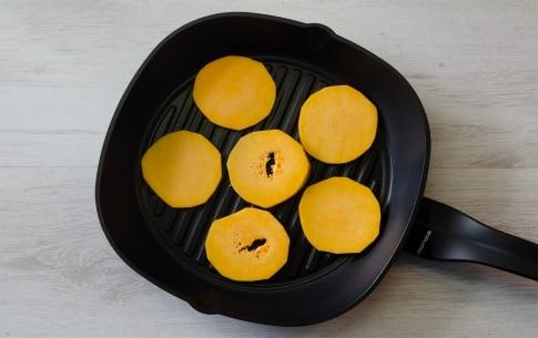 Preparazione Zucca grigliata sott'olio - Fase 1