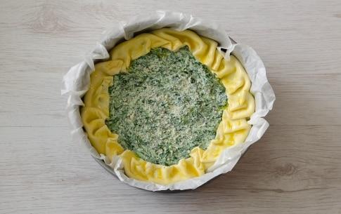 Preparazione Torta salata ricotta e spinaci - Fase 3