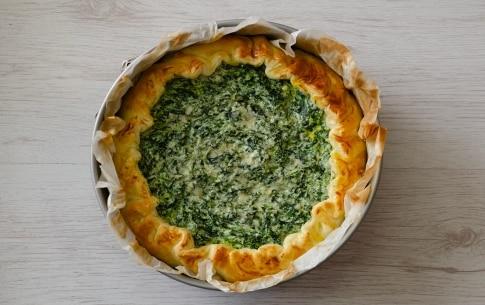 Preparazione Torta salata ricotta e spinaci - Fase 4